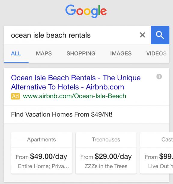 Dijital reklam adwords tipi